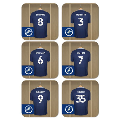 Millwall FC Dressing Room Coasters