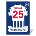 Millwall FC Shirt Christmas Card