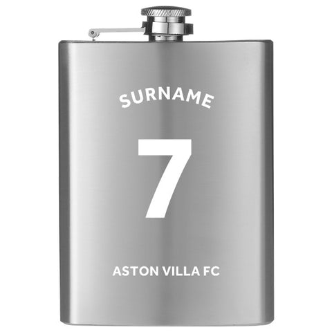 Aston Villa FC Shirt Hip Flask