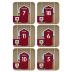 Burnley FC Dressing Room Coasters