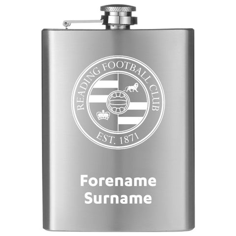 Reading FC Crest Hip Flask