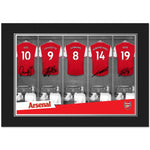 Arsenal FC 9x6 Dressing Room Photo Folder