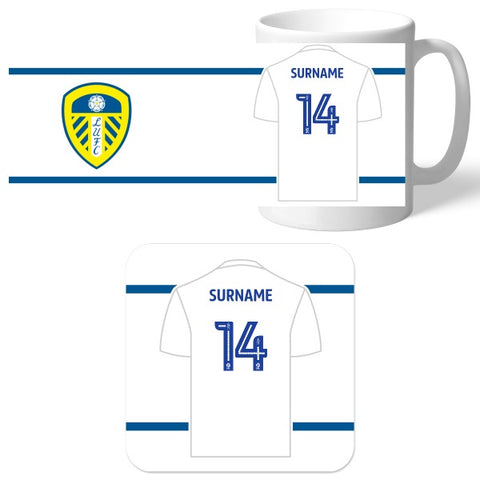 Leeds United FC Shirt Mug & Coaster Set