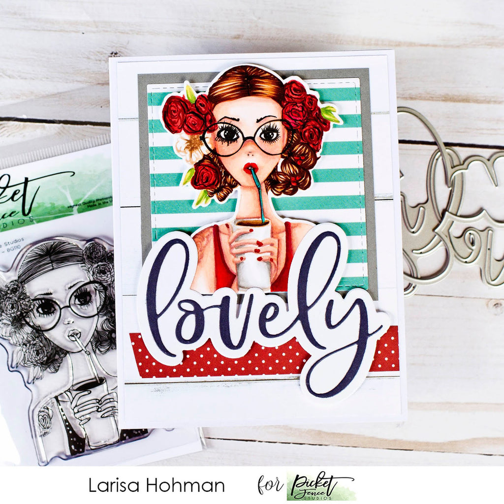Lovely Summer Card with Larisa