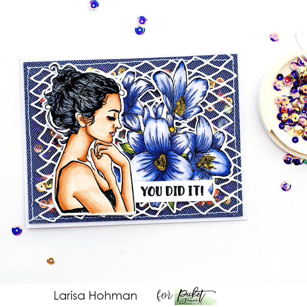 Two Eye-Catching Cards with Larisa