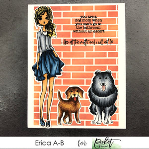 Another Dog Card with Erica