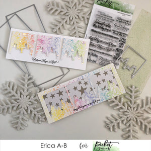 Slim Line Diecutting System cards with Erica!