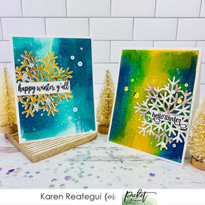 Happy Winter with Karen Reategui