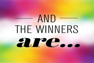 Blog Hop Giveaway Winners!