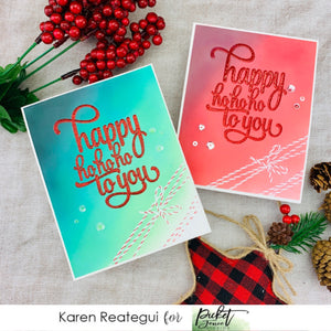 Happy Ho Ho Ho to you with Karen Reategui