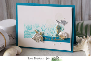Creating Dimensional Embellishments with Paper Glaze