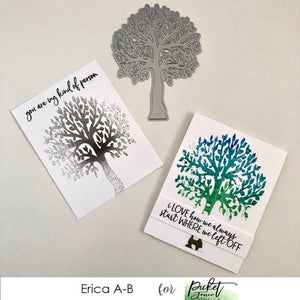 Clean And Simple Cards with Erica and A Tree