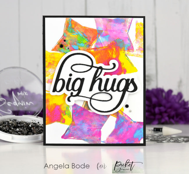 Big Hugs with Picket Fence Studios and Gel Press