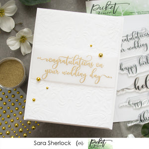 Fancy Sentiments and Flourishes with Sara