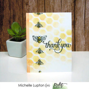Honeycomb thanks with Michelle Lupton