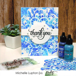 Alcohol ink kaleidoscope with Michelle Lupton