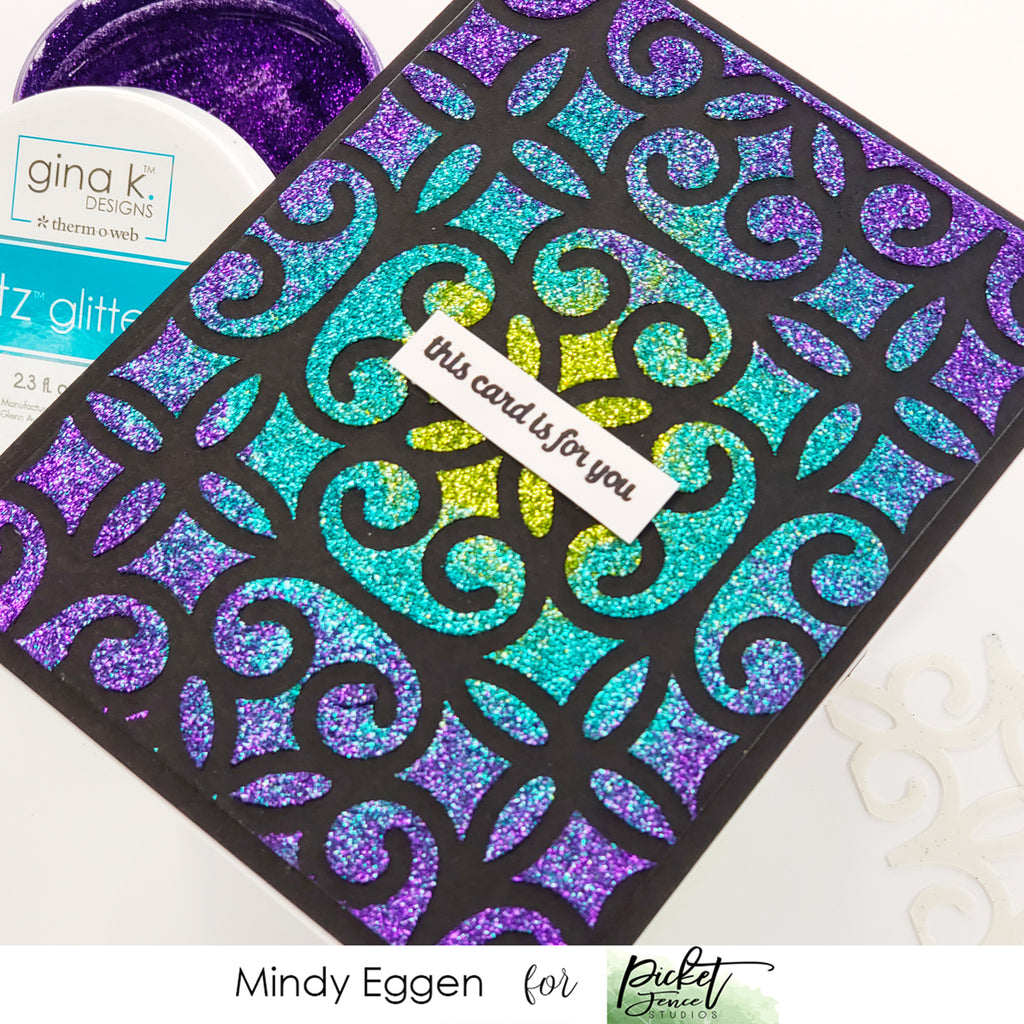 Scroll Stencil with Mindy Eggen