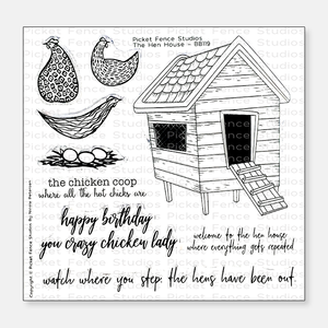 The Hen House Stamp Set