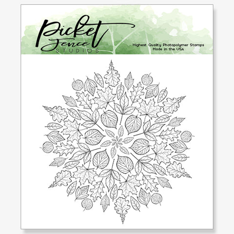 Leaf Mandla Stamp Set