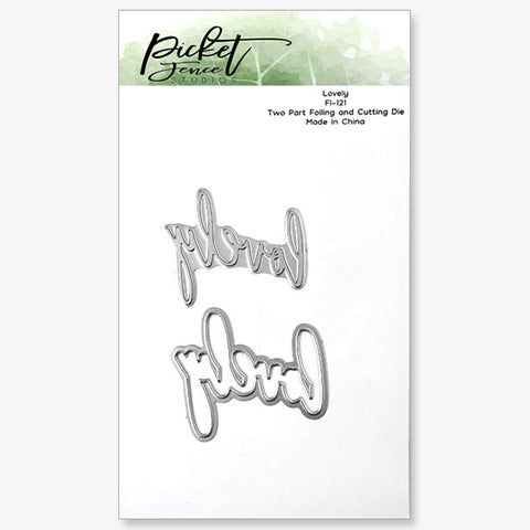 Lovely Foiled Impression Die