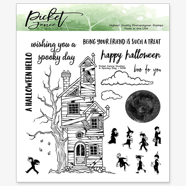 A Spooky Day Stamp Set