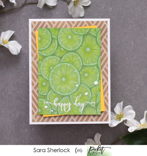 Fruitylicious 4x4 Seamless Stamp