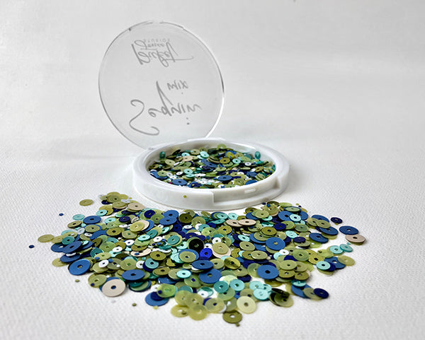 Blueberry Mojito Sequin Mix