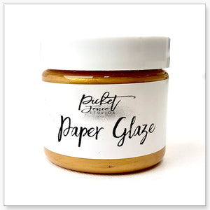 Paper Glaze - Golden Rose