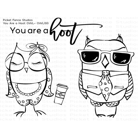 You Are A Hoot Stamp & Coordinating Die