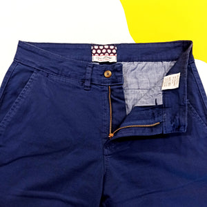 "URBAN BUTTON - Pantaló ""Chino"" Cotó Blau Nit"