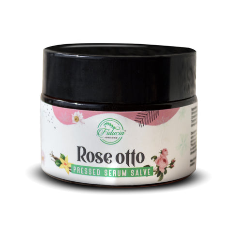 Rose Otto Pressed Serum Salve