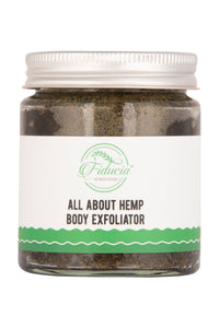 All about hemp body exfoliator - Fiducia Botanicals