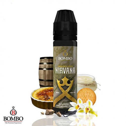 NIRVANA GOLDEN ERA BOMBO ELIQUIDS 50ML 0MG