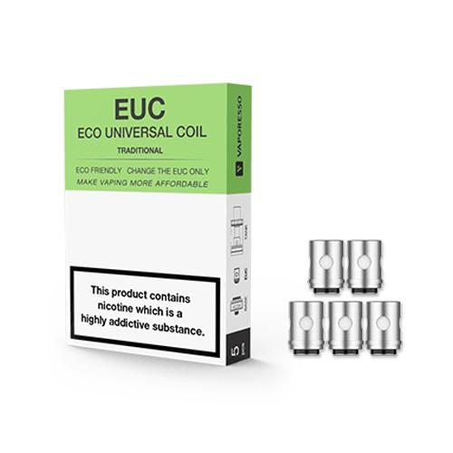 Vaporesso EUC Traditional Coil (Pack 5) 0.3 Ohm