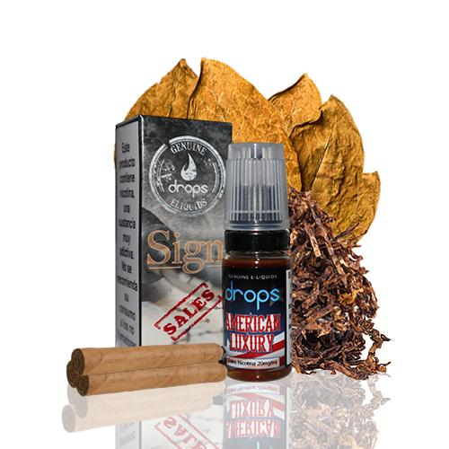 Drops Sales E-liquids American Luxury 20 mg