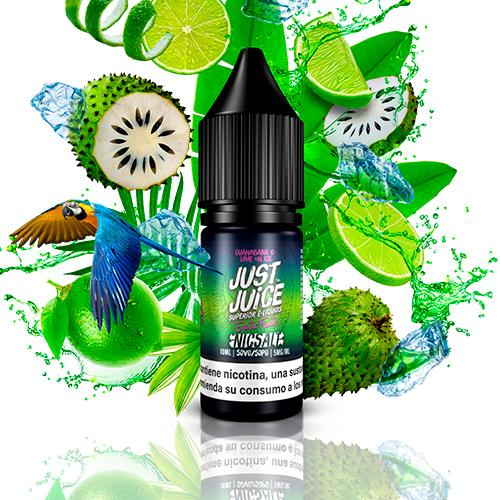 Just Juice Nic Salt Exotic Fruits Guanabana & Lime On Ice 10ml