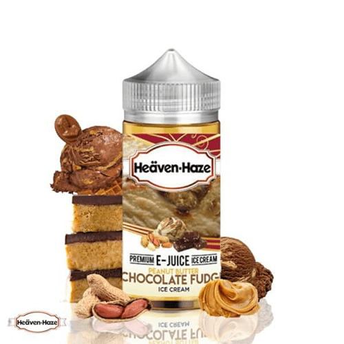 HEAVEN HAZE PEANUT BUTTER CHOCOLATE FUDGE 100ML
