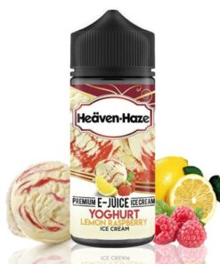 HEAVEN HAZE YOGHURT LEMON RASPBERRY 100 ml