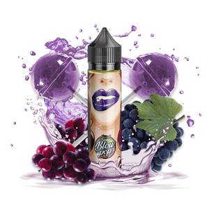 SWEET BLOW POP - GRAPE GUM LOLLYPOP 50/60ML 0MG