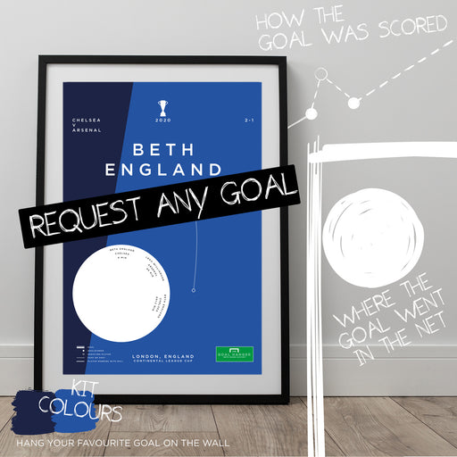 Any Chelsea Women's Goal As An Art Print
