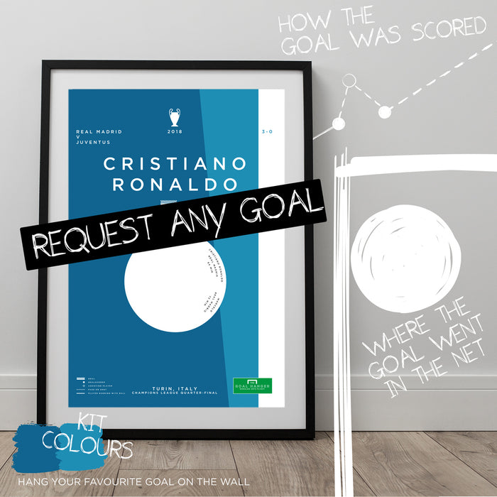Any Real Madrid Goal As An Art Print