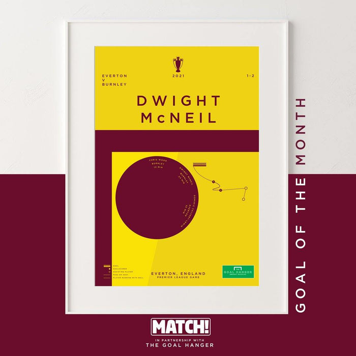 McNeil: Match Goal Of The Month for March - The Goal Hanger