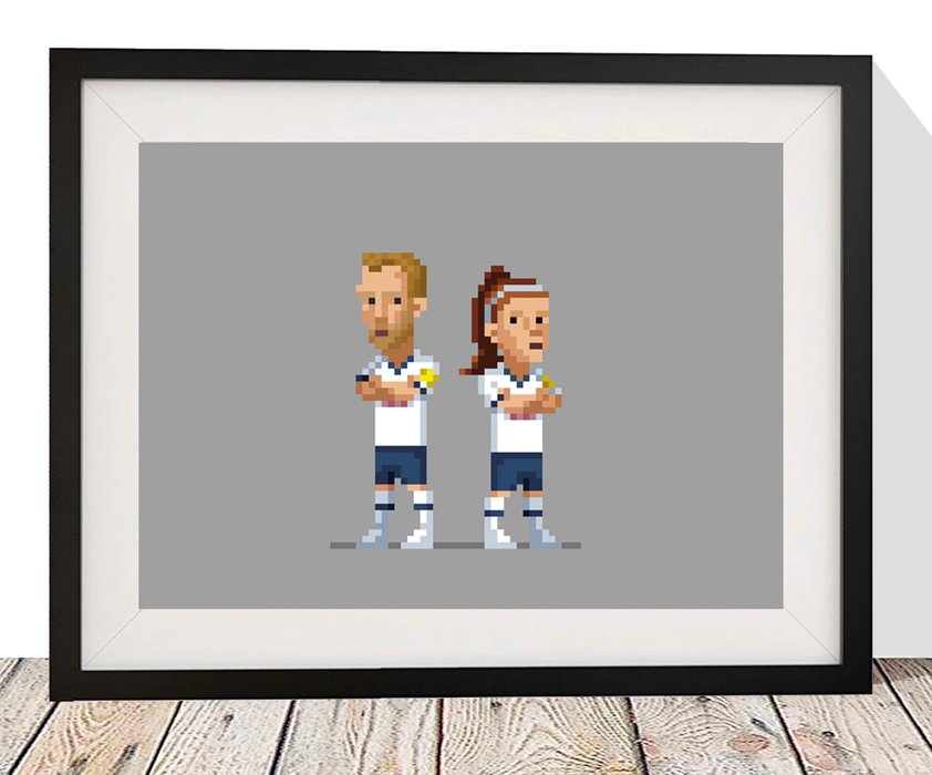 The Goal Hanger Gallery: 8 Bit Football