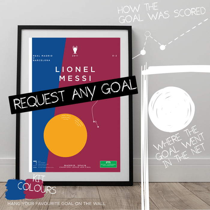 Any Barcelona Goal As An Art Print