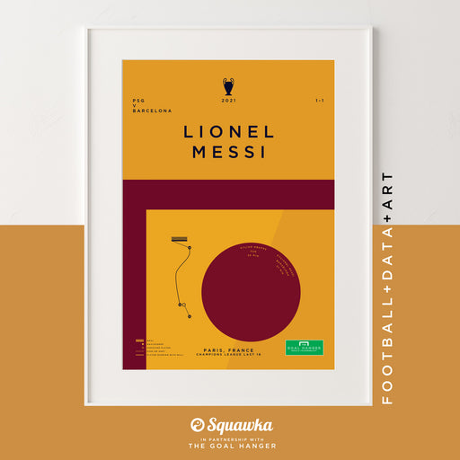 Lionel Messi v PSG: Squawka Collaboration