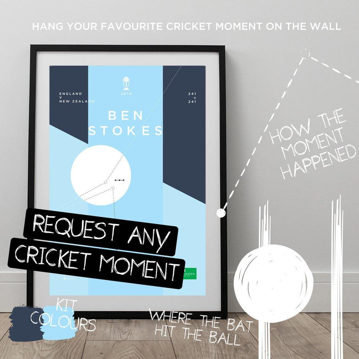 Request Any Cricket Moment - The Goal Hanger