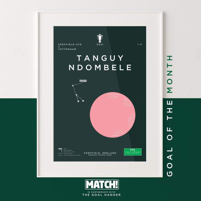 Ndombele: Match Goal Of The Month for January