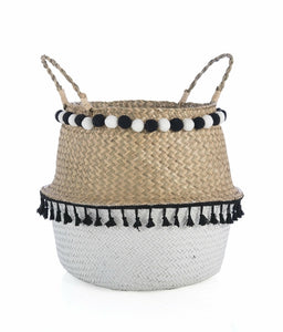 LARGE LARAMIE BASKET, NATURAL