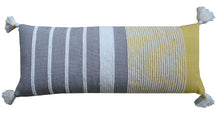 Load image into Gallery viewer, Decorative Long Grey Stripes Throw Pillow Cover