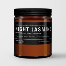 Load image into Gallery viewer, Naturally Calming Aroma Candle: Night Jasmine in Coconut Soy Wax